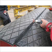 Pulley Lagging Rubber Sheet Job Work