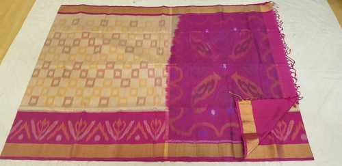 Ikat Soft Silk Sarees