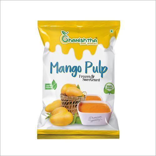 250 gm Organic Mango Pulp