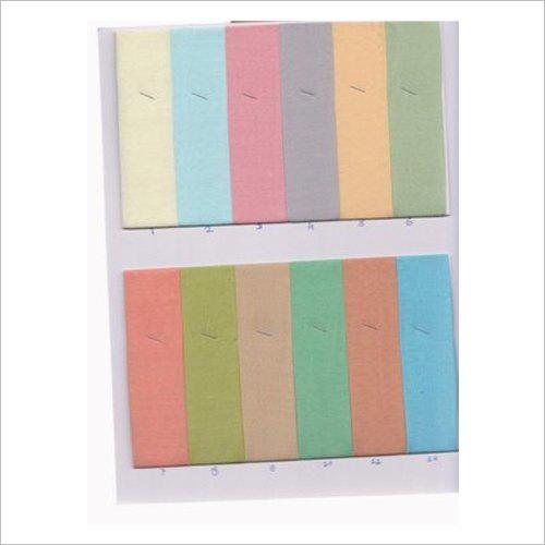 42 Color Muslin Slub Dyed Fabric