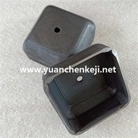Square Foot Bowl / Stacking Foot Bowl / Column Square Tube Foot / Bin Stacker Foot Cup