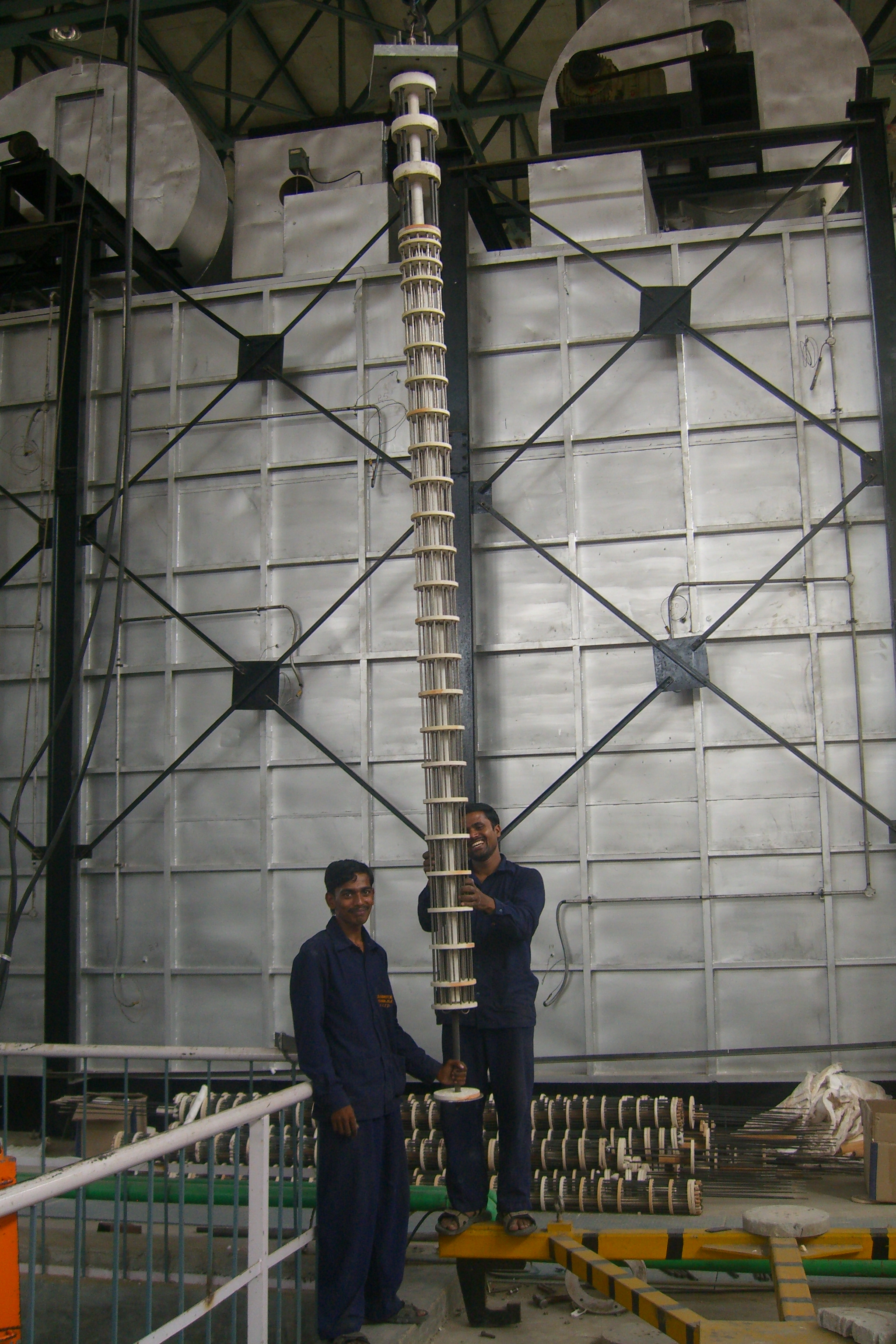 Bundle Rod Heating Elements