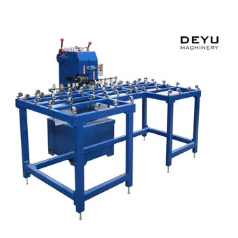 Glass Cross Belts Edging Machine