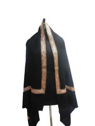 Zari embroidered pashmina shawl