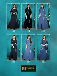 Privaa by DIYA VOL 1 Designer Kurti