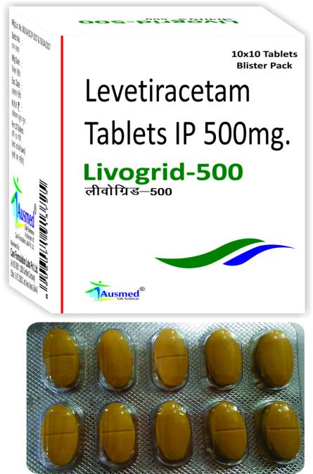Levetiracetam IP 250 mg./LIVOGRID-250
