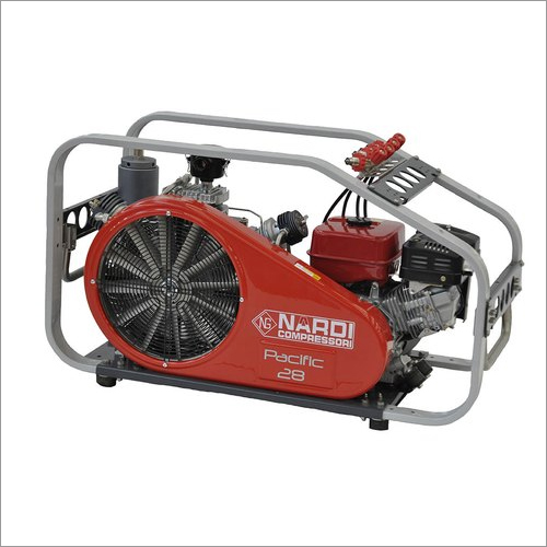 Nardi-italy- Oil Free Breathing Air Compressor With Gasoline Engine