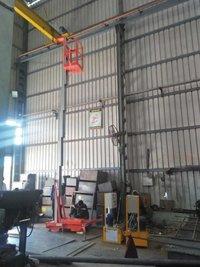Single Mast Aerial Platform