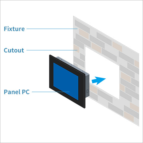 Mounting Solution Flush Mount Panel PC