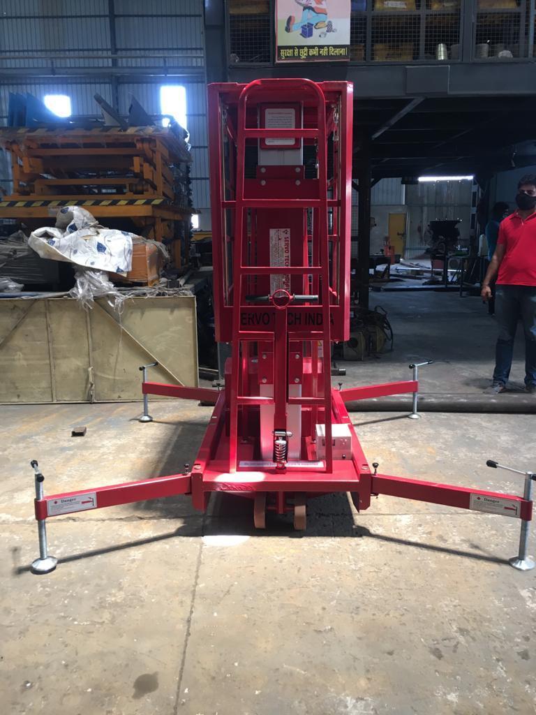 Double Mast Ariel Platform