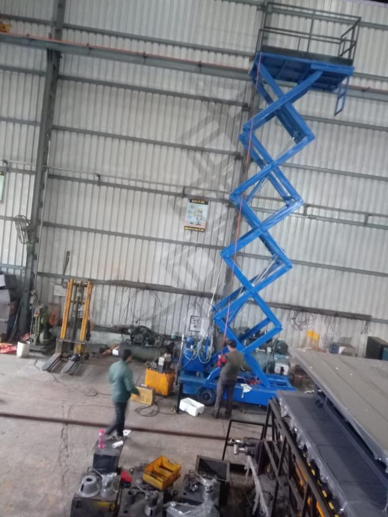 Mobile Hydraulic Lifting Table