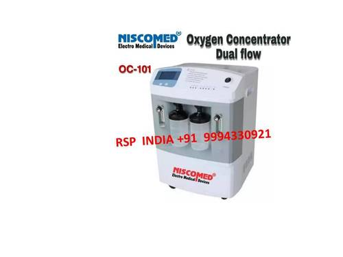 Niscomed Oxygen Concentrator Oc 101 Dual Flow