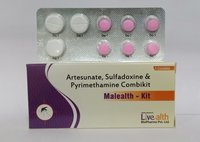 Artesunate, Pyrimethamine and Sulfadoxine Tablets