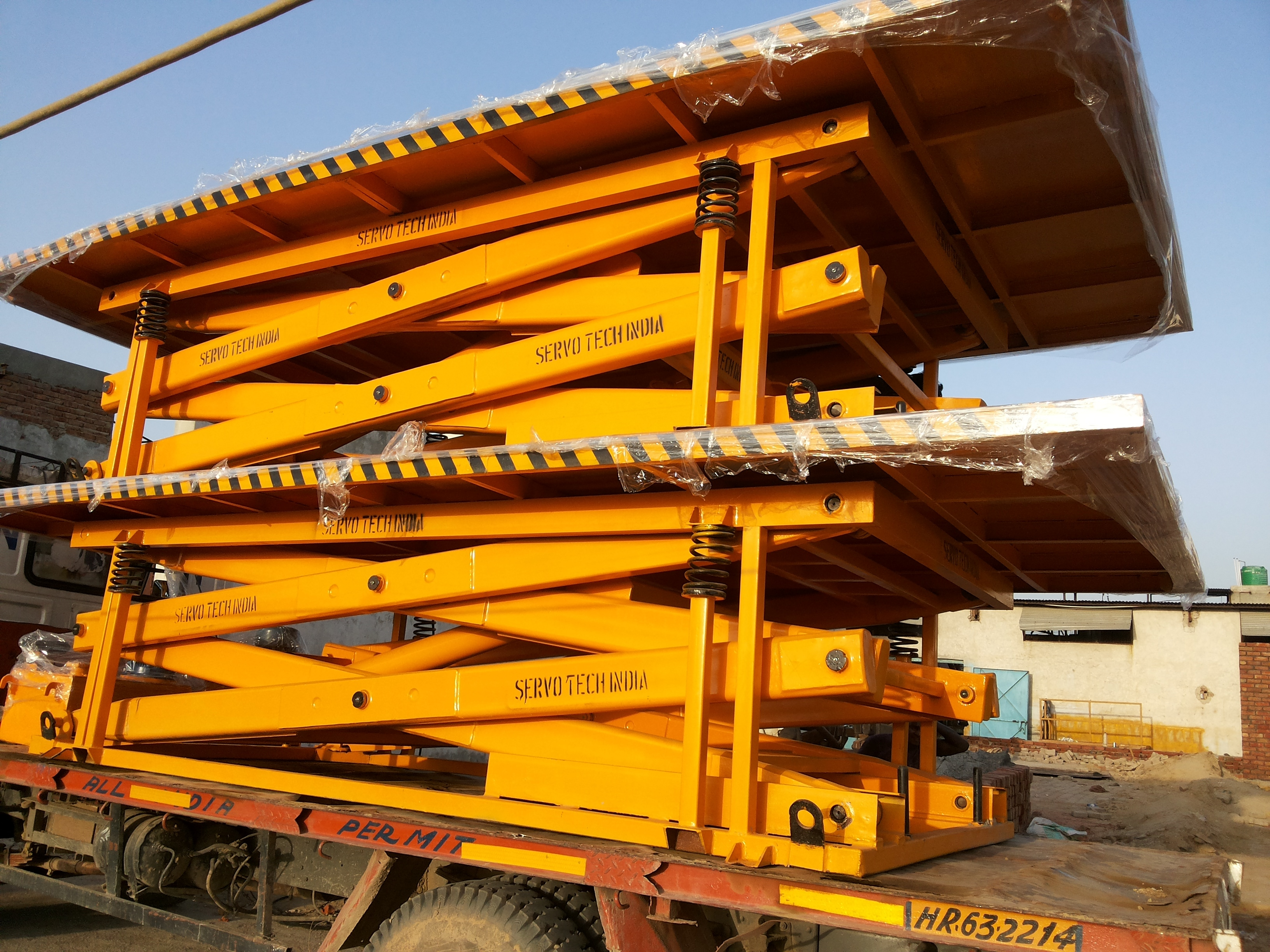 Goods Scissor Lift