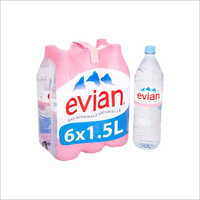Evian 1.5 Ltr Spring Water