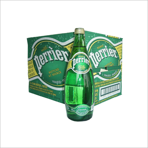 750 ml Perrier Mineral Water Bottle