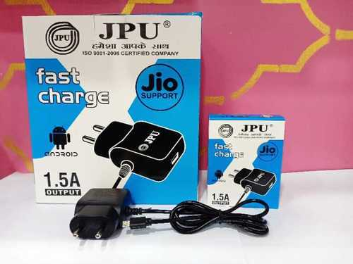 JPU Mobile charger 1.5amp full JIO suport