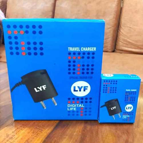 JIO LYF 1.5amp charger
