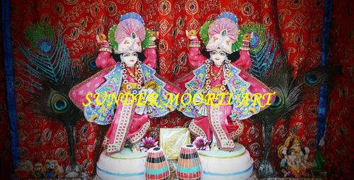 Marble Gaura Nitai Iskcon Mayapur