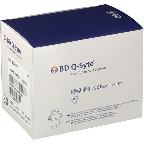 Bd Q-syte Luer Access Split Septum 385100