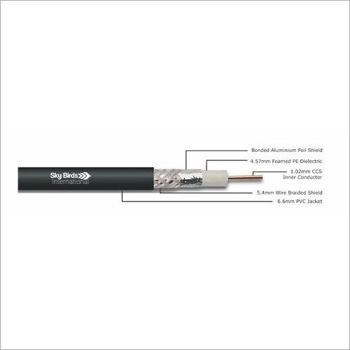 RG 6 CCS - Silver 40.64 Coaxial Cable