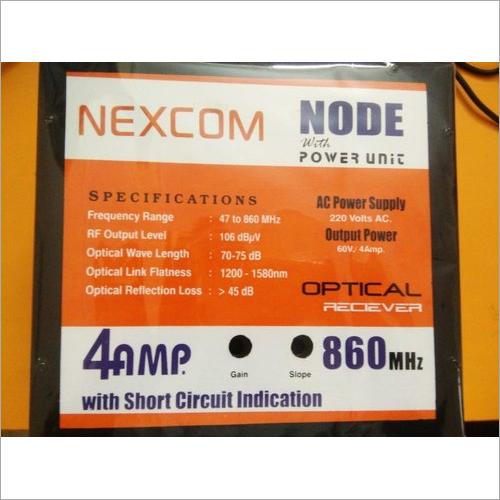 Node With Power Unit 4 AMP