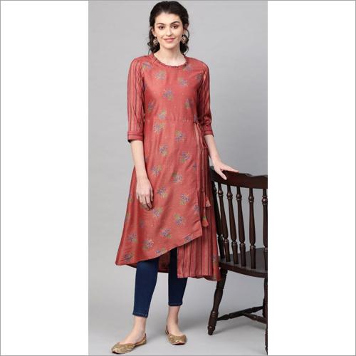 Ladies  Designer Angrakha Kurtis