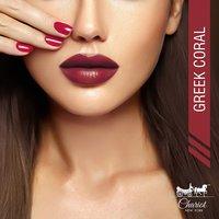 Chariot New York Iris Burgundy Creme Lipstick (Burgundy)