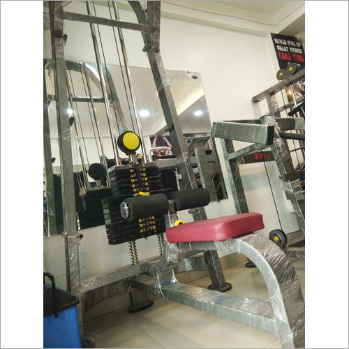 Lat Pull Down Machine With Double Pulley