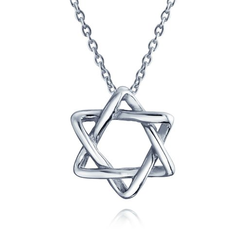 sterling silver pendants star of david