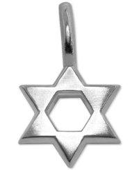 sterling silver pendants star of david
