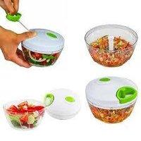 Manual Food Chopper, Compact & Power full Hand Held Vegetable Chopper/Blender