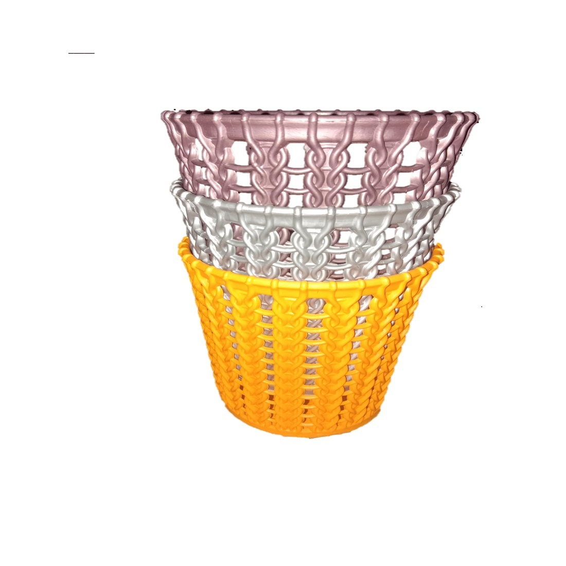 Kitchen tool Or office Table tools organizer Basket style Multicolored Glass