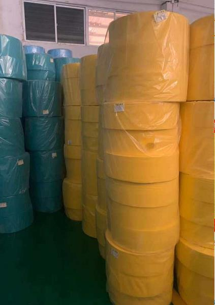 PP Non Woven Fabrics Color Fabric Mask Material Gown Material