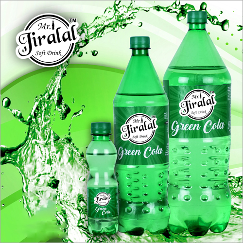 Green Cola Soft Drink