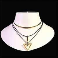 Black Plated Multilayer Handcrafted Chain