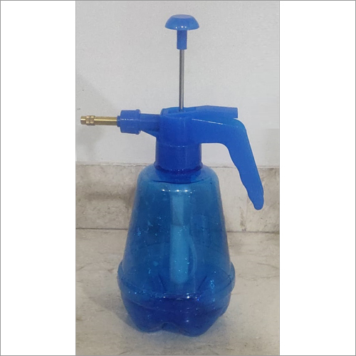 Plastice Blue Spray Bottle