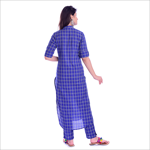 Blue Kurti With Pant