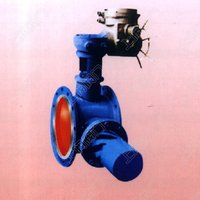 Electric butterfly release/bleeding valve