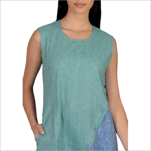 Plain Sleeveless Top