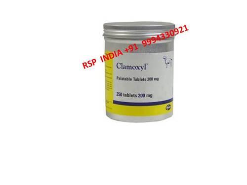 Clamoxyl 200mg Tablets
