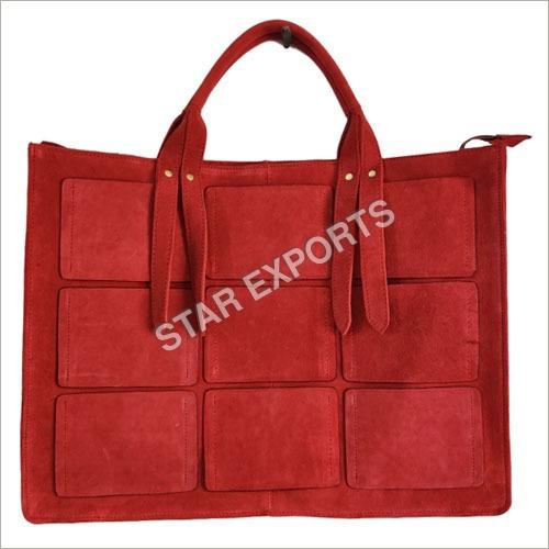 Ladies Leather Multicolor Bag