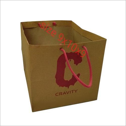 Brown Paper Cake Bags