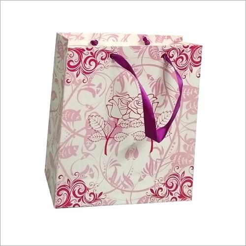 Floral Printed Paper Bags