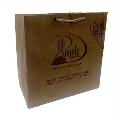 Brown Paper Bakery Bags