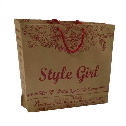 Garment Printed Paper Bags