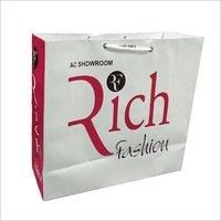 Designer Print Paper Shopping Bags