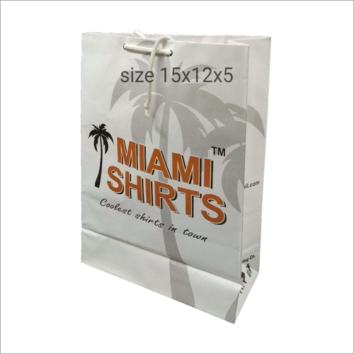 Customized Print Paper Shopping Bags