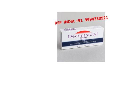 Decontractyl 500mg  Tablets