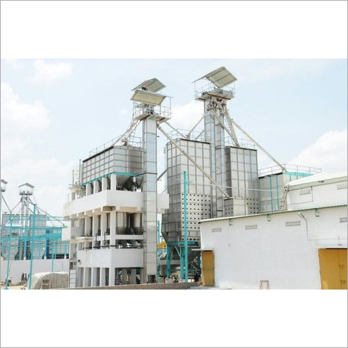 SS Parboiling And Dryer Plant